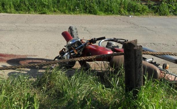 15-летний мальчик въехал на скутере в газопровод