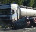 Под Тулой в ДТП с грузовиком погибла женщина