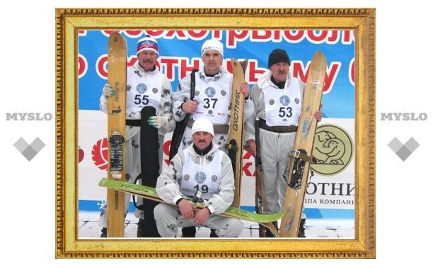 Тульские охотники выиграли снегоход