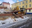На ул. Кирова в Туле снесли недостроенный дом