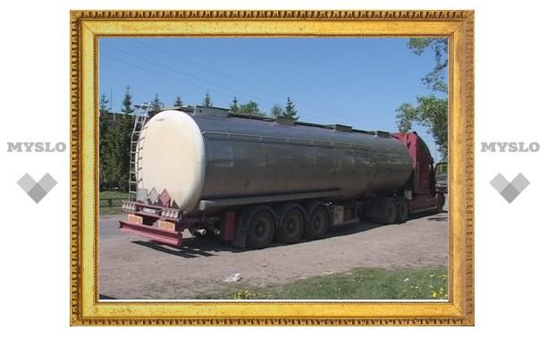 В Тульской области задержана цистерна с 40 тоннами спирта