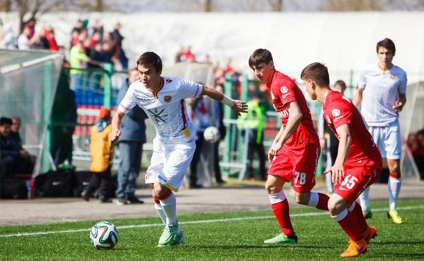 Молодёжка «Арсенала» уверенно переиграла сверстников из «Спартака»