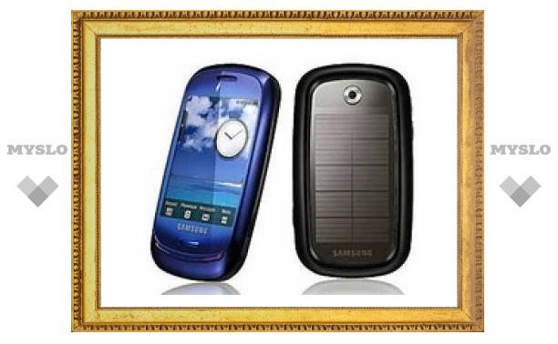 Samsung разработал мобильник на солнечной батарее