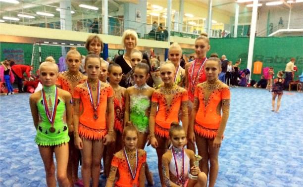 Тульские гимнастки привезли девять медалей с турнира городов России