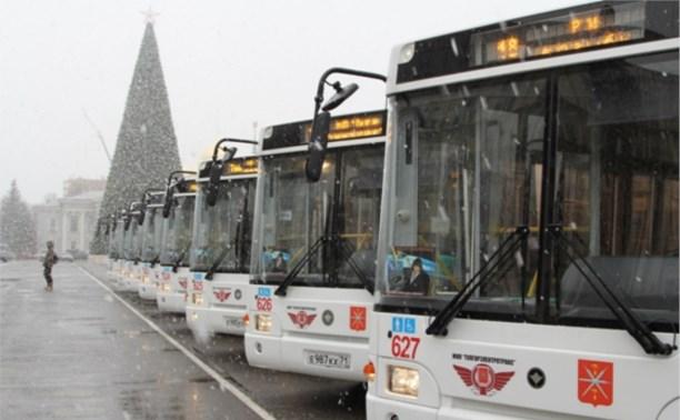 Тула закупит 30 новых низкопольных автобусов