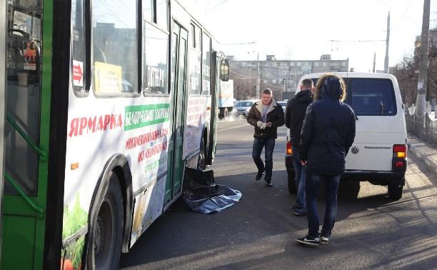 Тульская полиция ищет очевидцев смертельного ДТП с троллейбусом на ул. Пузакова
