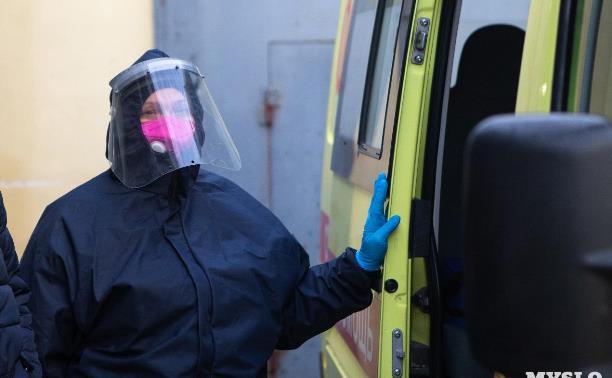 Статистика за сутки: в Тульской области 116 случаев коронавируса и 10 смертей