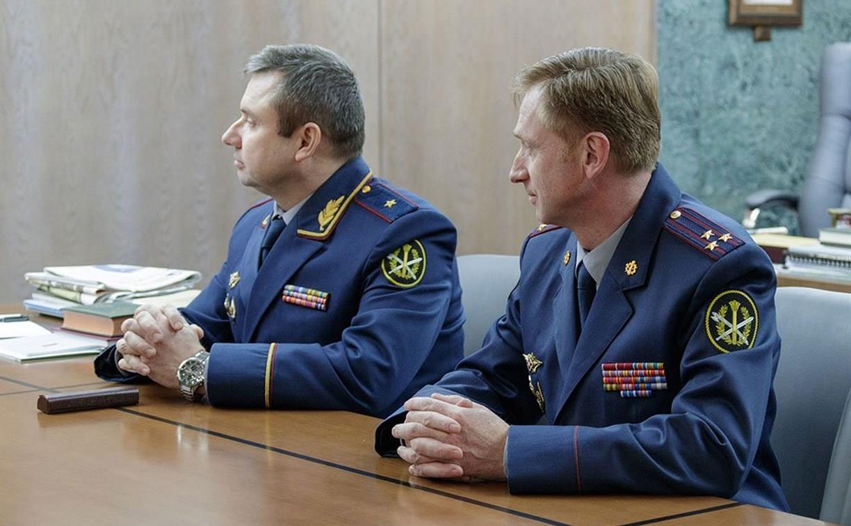 Начальник тульского УФСИН получил звание генерал-майора внутренней службы