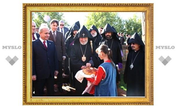 В Армении освящена церковь Сардарапата, закрытая в годы советской власти