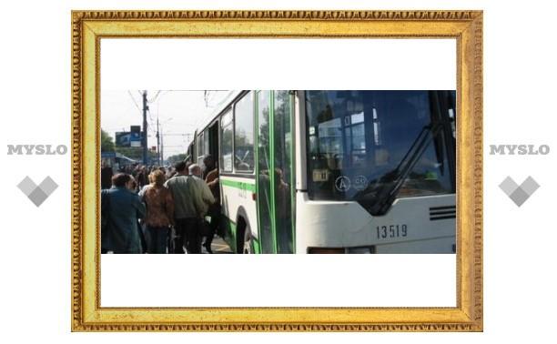 В Туле проблемы с городским транспортом