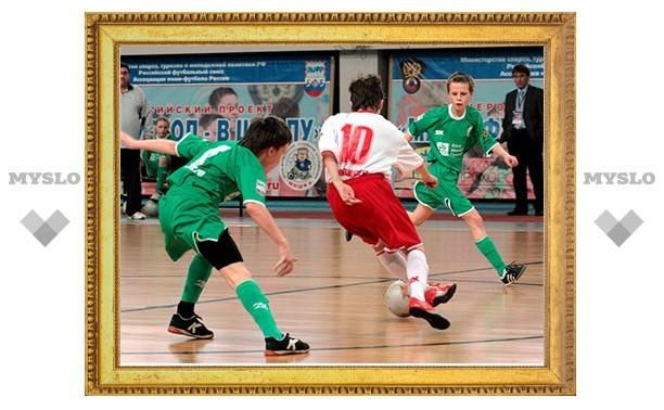 В первенстве Тульской области по мини-футболу завершился групповой этап