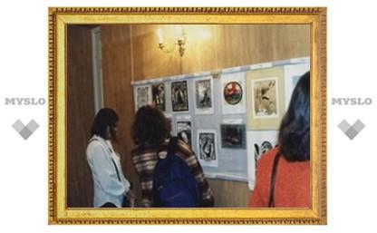 Тульские художники отправились в Москву