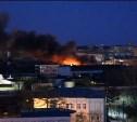 Ночью на «Туламашзаводе» произошел пожар