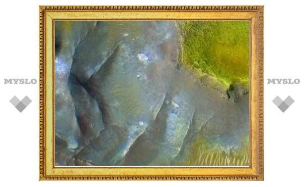 Геологи загнали марсианскую жизнь под землю