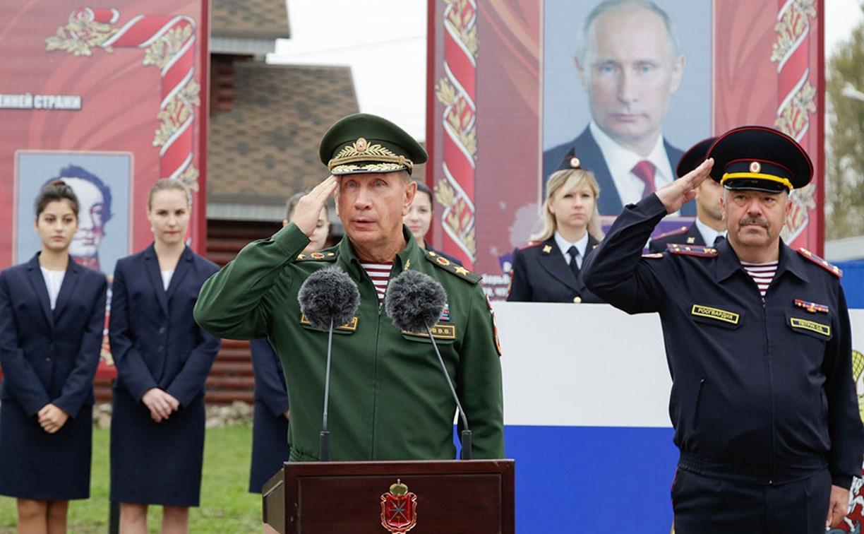 Главком Росгвардии России Виктор Золотов посетил базу тульского ОМОНа