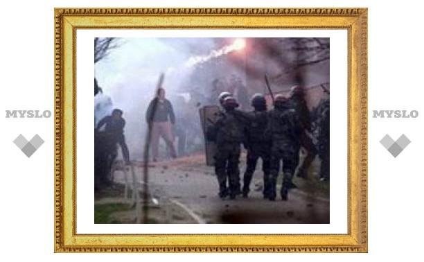Полиция ООН покидает север Косово