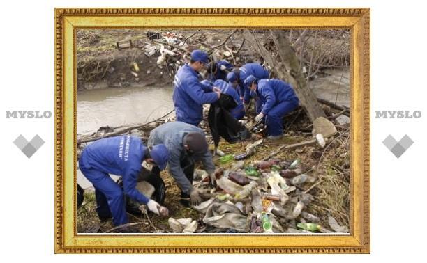 Река Упа в Туле будет очищена