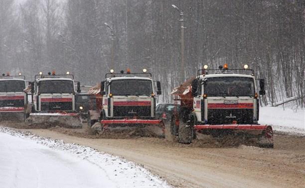 Трассы «Автодора» расчищают от снега 266 единиц спецтехники