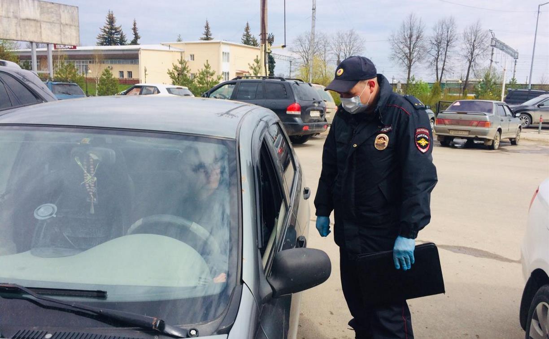 Полицейские проводят «карантинные» рейды в Тульской области
