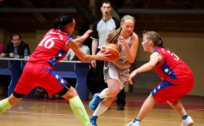 Тульские баскетболистки вышли в полуфинал «КЭС-Баскета»