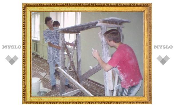 Тульских строителей накажут за простои в ремонте онкологического диспансера