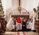 Тульские католики празднуют Рождество