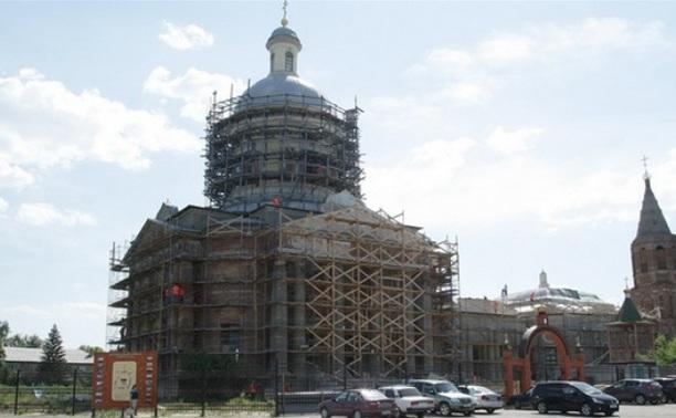 Фасад Никольского собора в Епифани отреставрируют к 1 сентября