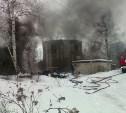 Пожар на бывшем спиртзаводе в селе Дьяконово потушили