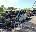 Цыганский конфликт в Туле: ночью подожгли четыре автомобиля
