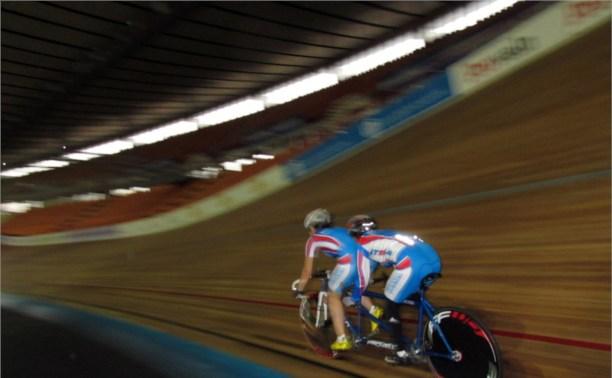 Тульские велосипедисты завоевали две медали в тандем-треке