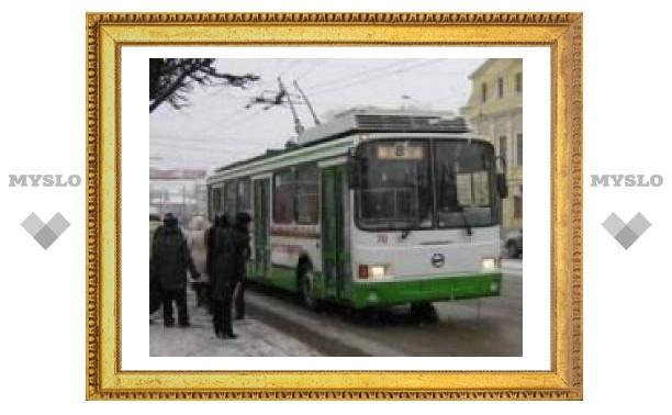У тульских троллейбусов изменился маршрут