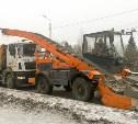 В Туле 28 ноября вывезут снег с проспекта Ленина