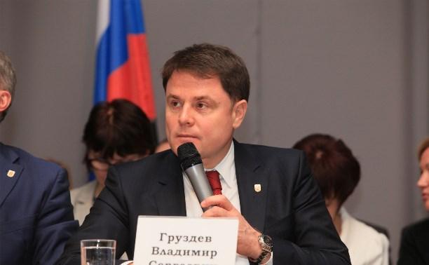 Владимир Груздев встретится с жителями Чернского района