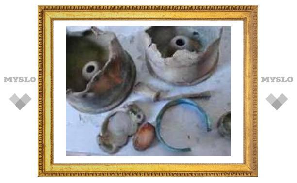 В Туле раскопали бесценные артефакты