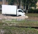 В Туле устраняют подтопления на дорогах