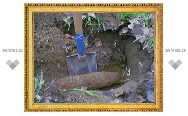Под Тулой нашли минометный снаряд