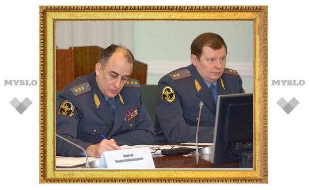 В Туле началось координационное совещание правоохранительных органов