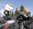 Фоторепортаж: как Новомосковские байкеры открыли мотосезон