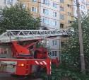 Пожар в Туле на ул. М. Горького: сотрудники МЧС спасли двух человек