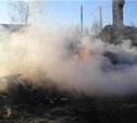 В Ненашевском Заокского района сгорела дача