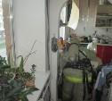 На пожаре в Узловой пострадали два человека
