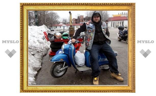 Тульские мотогонщики открыли сезон
