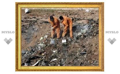 """Обнаружены """"черные ящики"""" разбившегося в Иране Ту-154"""