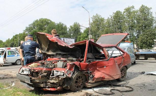 Виновником массового ДТП на проспекте Ленина стал 80-летний водитель