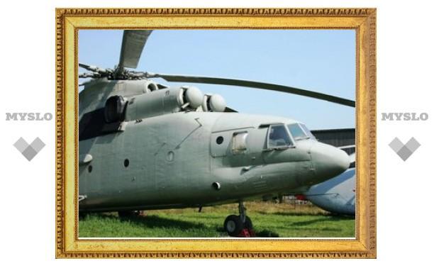 Рязанские вертолетчики разбомбили магазин дверью