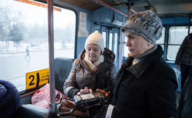 Как будет ходить транспорт в Большой Туле с нового года
