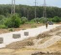 В Туле реконструируют дорогу по ул. 1-ая Песчаная