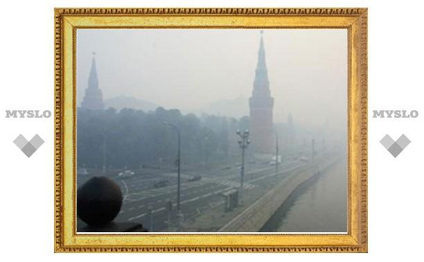 Содержание вредных примесей в воздухе Москвы в несколько раз превысило норму