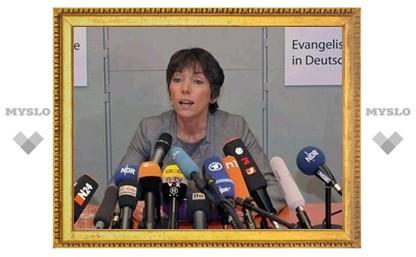 Лидер немецких протестантов Маргот Кессман уходит в отставку
