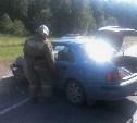 В Венёвском районе столкнулись два автомобиля